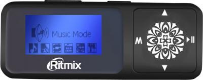 MP3-плеер Ritmix RF-3350 (8Gb, черный) - общий вид