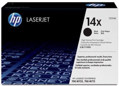 Тонер-картридж HP LaserJet 14X (CF214X) - общий вид