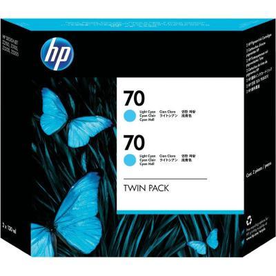 Комплект картриджей HP 70 (CB351A) - общий вид