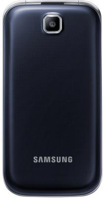 Мобильный телефон Samsung C3592 Dual (черный) - общий вид в закрытом положении
