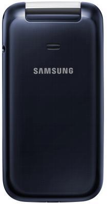 Мобильный телефон Samsung C3592 Dual (черный) - вид сзади