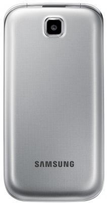 Мобильный телефон Samsung C3592 Dual (серебристый) - общий вид в закрытом положении