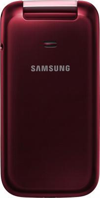 Мобильный телефон Samsung C3592 Dual (красный) - задняя панель