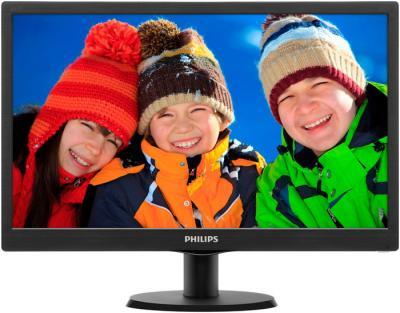Монитор Philips 234E5QHSB - фронтальный вид
