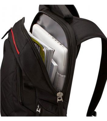 Рюкзак для ноутбука Case Logic DLBP-114K - с открытой молнией