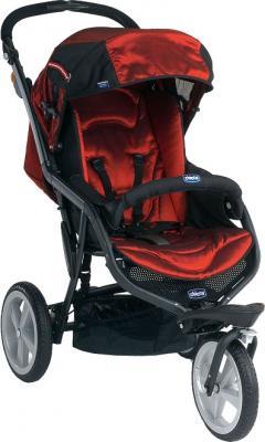 Детская универсальная коляска Chicco S3 Black Auto-Fix (Scarlet) - общий вид
