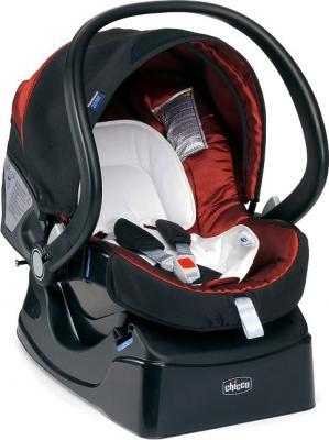Детская универсальная коляска Chicco S3 Black Auto-Fix (Scarlet) - автокресло