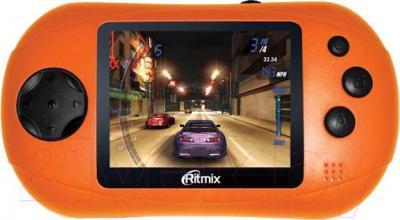 Игровая приставка Ritmix RZX-08 (оранжевый) - общий вид