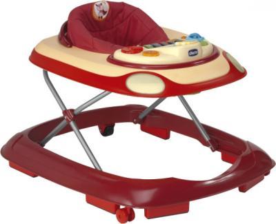 Ходунки Chicco Band Baby Walker (Red) - общий вид