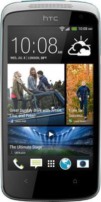 Смартфон HTC Desire 500 Dual (Glacier Blue) - общий вид