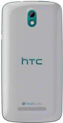 Смартфон HTC Desire 500 Dual (Glacier Blue) - задняя панель