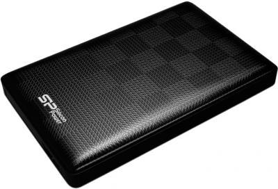 Внешний жесткий диск Silicon Power Diamond D03 500GB (SP500GBPHDD03S3K) - общий вид