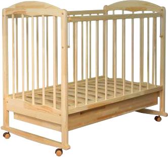 Детская кроватка СКВ 111115 (береза) - общий вид