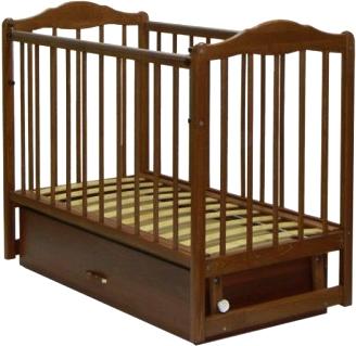 Детская кроватка СКВ 112006 (бук) - общий вид