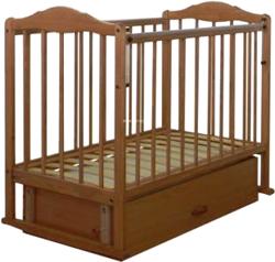 Детская кроватка СКВ 112007 (Орех) - общий вид