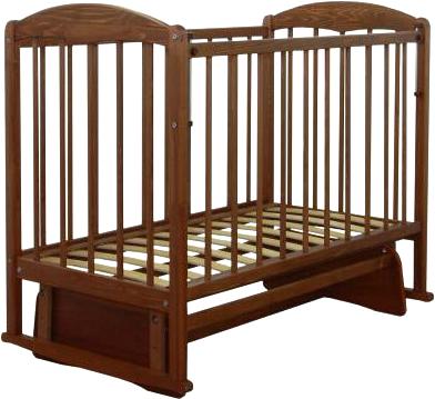 Детская кроватка СКВ 114007 (Орех) - общий вид