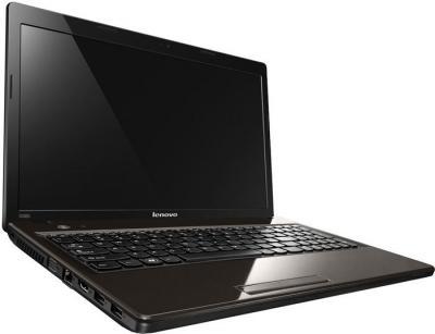 Ноутбук Lenovo IdeaPad G585 (59333305) - вид сбоку