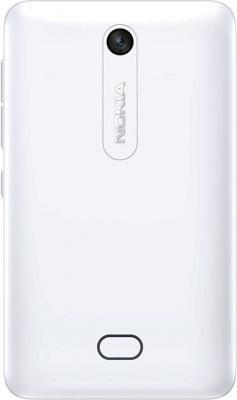 Мобильный телефон Nokia Asha 501 Dual (White) - задняя панель