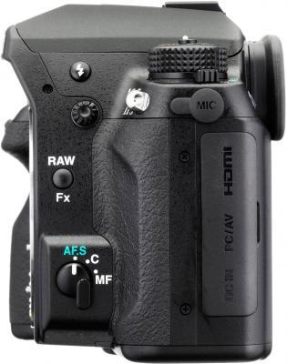 Зеркальный фотоаппарат Pentax K-5 IIs Body - вид сбоку