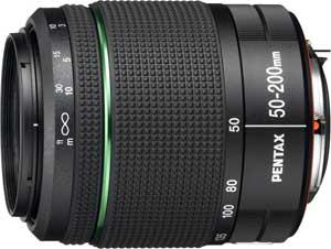 Зеркальный фотоаппарат Pentax K-50 Kit (DA 18-55mm WR+DA 50-200mm WR) - Pentax SMC DA 50-200mm f/4-5.6 ED