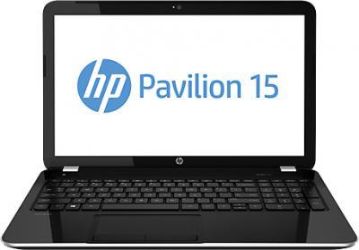 Ноутбук HP Pavilion 15-e035sr (E6M88EA) - фронтальный вид