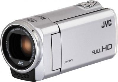 Видеокамера JVC GZ-E100 (Silver) - общий вид