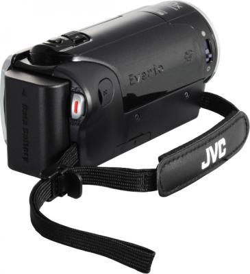 Видеокамера JVC GZ-E105 (Black) - вид сзади