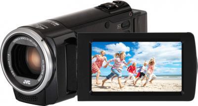 Видеокамера JVC GZ-E105 (Black) - общий вид