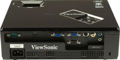 Проектор Viewsonic PJD5132 - вид сзади