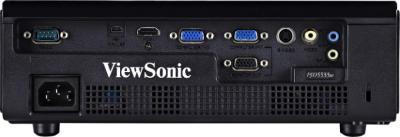 Проектор Viewsonic PJD5533W - вид сзади