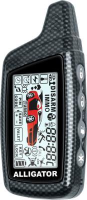 Автосигнализация Alligator S-875RS - диалоговый пульт