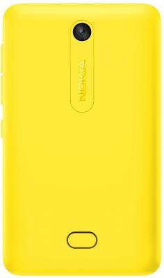 Мобильный телефон Nokia Asha 501 Dual (Yellow) - задняя панель