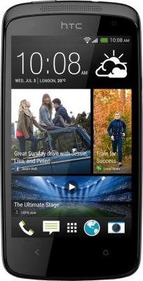 Смартфон HTC Desire 500 Dual (Black) - общий вид