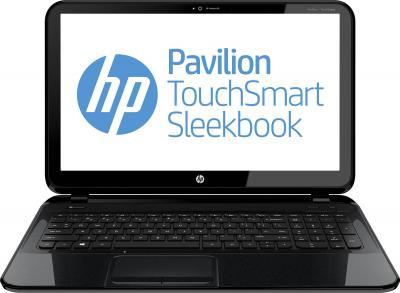 Ноутбук HP Pavilion 15-b129sr (D6X31EA) (+ мышь в подарок) - фронтальный вид