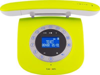 Беспроводной телефон TeXet TX-D7955A (Pistachio) - общий вид