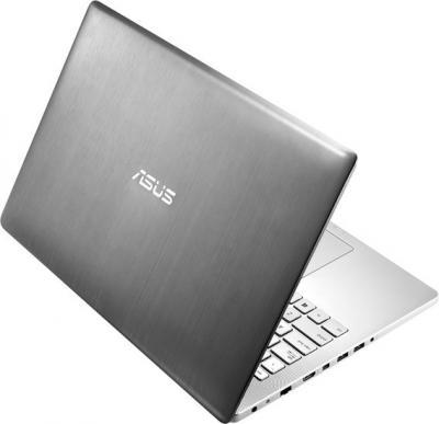 Ноутбук Asus N550JV-CN027H - вид сзади