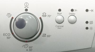 Посудомоечная машина Zanussi ZDS2010 - панель управления