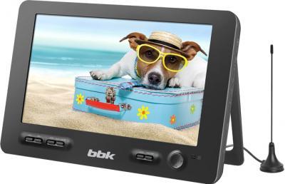 Портативный DVD-плеер BBK PL1041T (Black) - общий вид