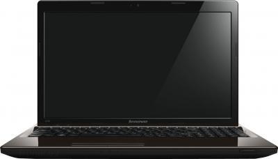 Ноутбук Lenovo IdeaPad G580A (59371641) - фронтальный вид