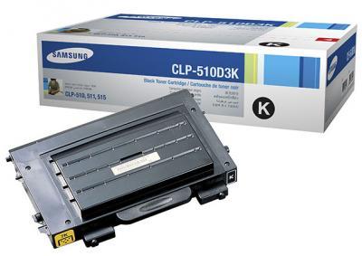 Тонер-картридж Samsung CLP-510D3K - общий вид
