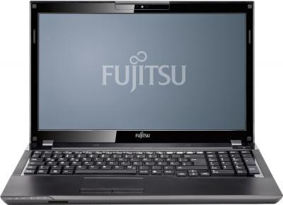 Ноутбук Fujitsu LIFEBOOK AH552 (AH552MC3E5RU) - фронтальный вид