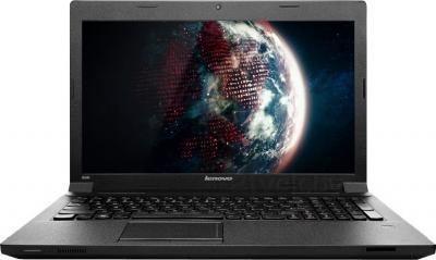 Ноутбук Lenovo IdeaPad B590A (59366084) - фронтальный вид