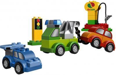 Конструктор Lego Duplo Машинки-трансформеры (10552) - автозаправка