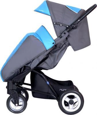 Детская прогулочная коляска Euro-Cart Runner (Ocean Blue) - общий вид