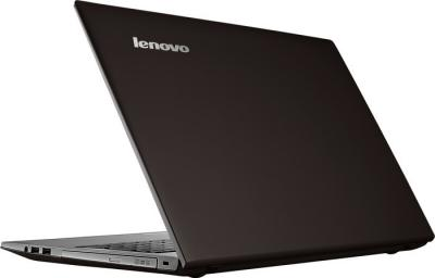 Ноутбук Lenovo IdeaPad Z500 (59371606) - вид сзади