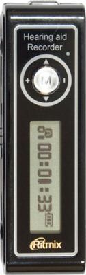 Цифровой диктофон Ritmix RR-550 (1Gb, черный) - общий вид