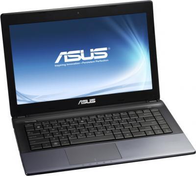Ноутбук Asus K45DR-VX006R - фронтальный вид