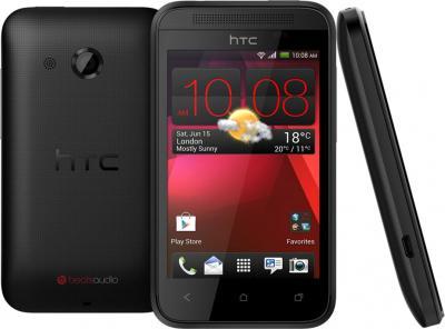 Смартфон HTC Desire 200 (черный) - со всех сторон