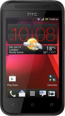 Смартфон HTC Desire 200 (черный) - общий вид