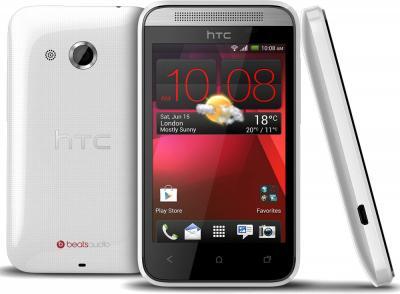Смартфон HTC Desire 200 (белый) - со всех сторон